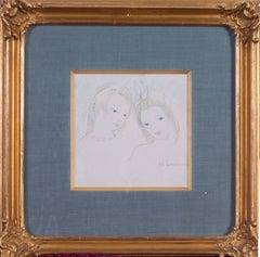 'Les deux amies' (The two friends)
