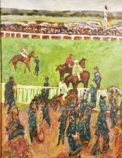 Day at the Races Equesterian  Landscape