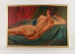 Reclining Nude by Mirra