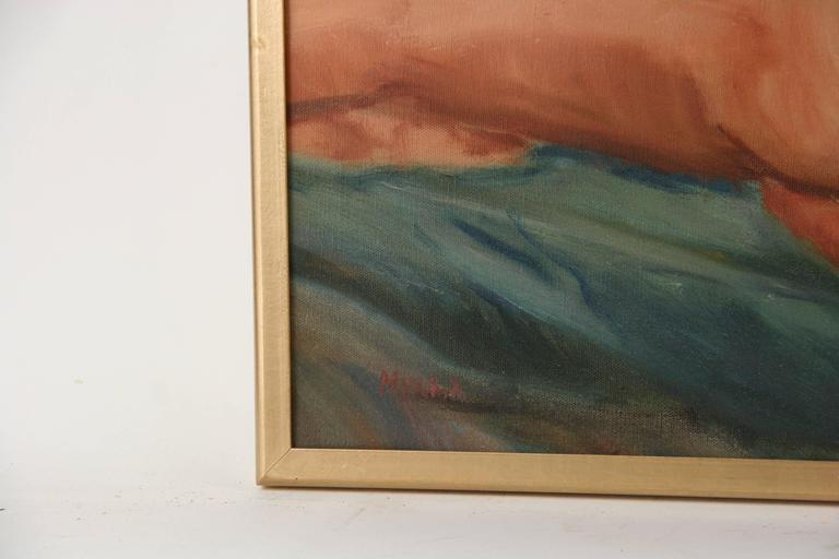 Reclining Nude by Mirra For Sale 1