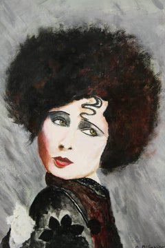 Silent Movie Star Portrait By A.DiSavino