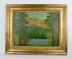 Impressionist Landscape by F.Koops