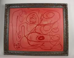 Abstract Expressionist Red by Liotti