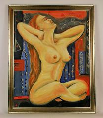 Nude Russian Figurative Painting