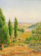 Tuscan Landscape by A. Veschi