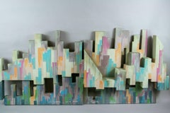 NYC Sculptural Painting by Yolay