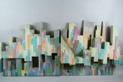 NYC Sculptural Painting