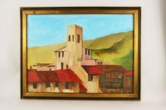 Tuscan Village Painting by Corsini