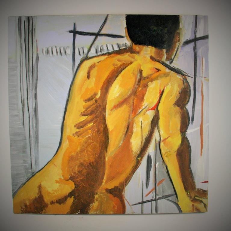 Unknown Figurative Painting - Adonis