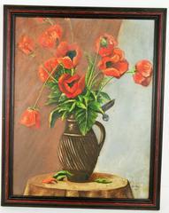Poppies Still life Painting
