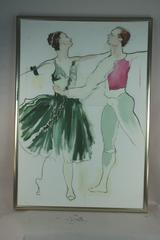Oversized Figurative Ballet Painting