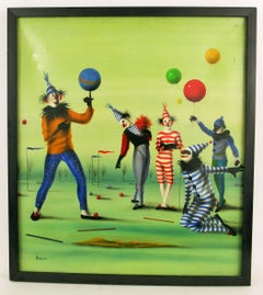 Surreal Circus Clowns