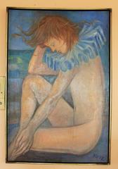 Androgyne Figure  Painting