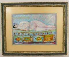 Resting Blue Nude Figurative