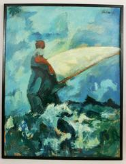 Sailing Oversized  Abstract Painting
