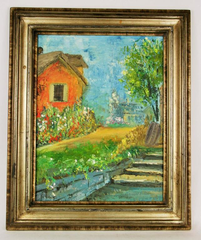 Country House Painting, Painting For Sale At 1stdibs
