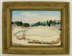 On Walden Pond by Constantine Wright