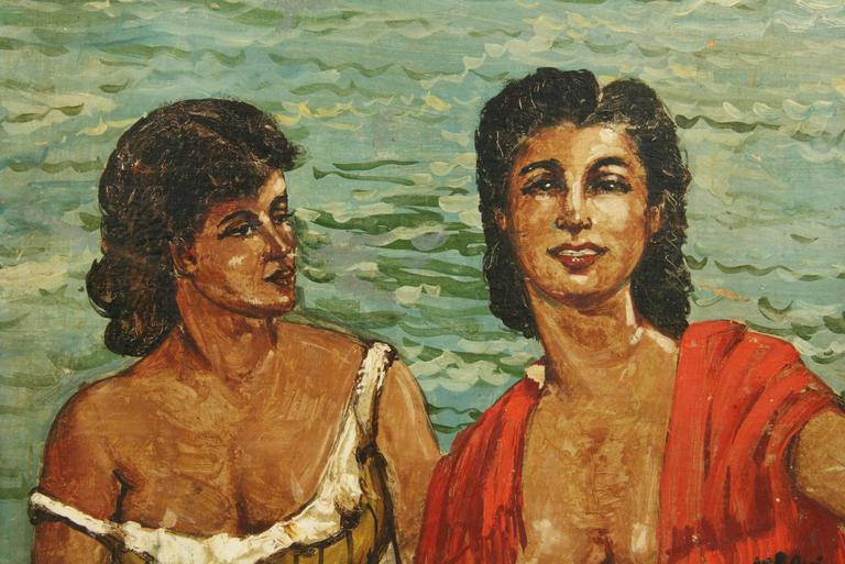 Southern Italians Painting - Brown Figurative Painting by Unknown