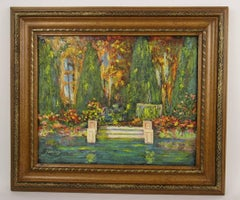 Enchanted  Garden Painting
