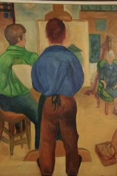 The Artist Studio Painting