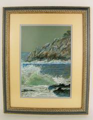 Capri Island  Pastel Drawing
