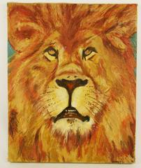 Leo The Lion Animal Painting