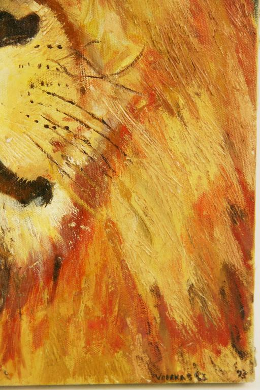 Leo The Lion Animal Painting For Sale 2