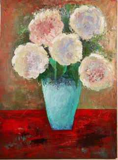Abstract Hydrangea Still Life