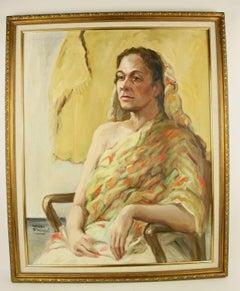 Exotic Female  Portrait Painting