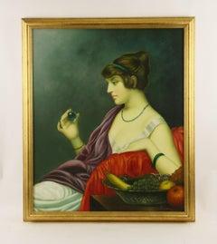 Roman Patrician Portrait Painting