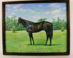 Thorough Bread Equestrian Painting