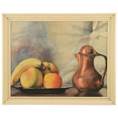 Copper Pitcher Still Life painting