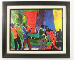 All That Jazz Musical Figurative Painting
