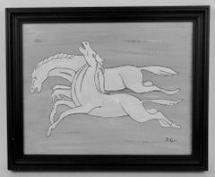 Deco Horses Painting