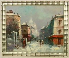Paris Winter Scene