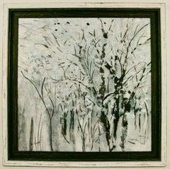 Black & White Forest Landscape