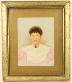 19th Century Primitive  Portrait