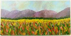 Mountains View Landscape Painting