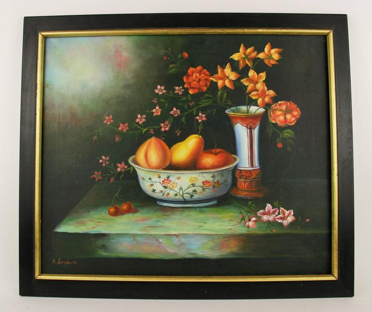 Unknown Still-Life Painting - 50% OFF ART SALE SELECTED ITEMS STOREWIDE Fruit Still Life