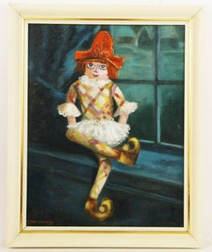 Harlequin Painting by E. Meyerrose