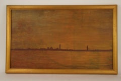 Nocternal Venice Seascape Landscape