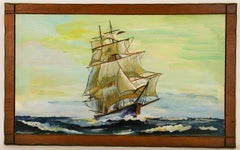 Tall Ship Seascape