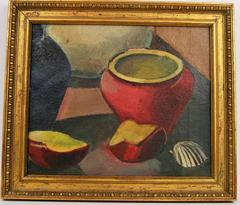 Red Pot Painting