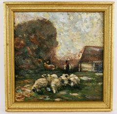 Pastoral Scene Painting