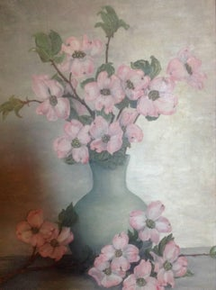 1930's Impressionist  Flowers Still Life Painting