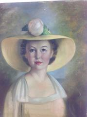 Figurative Southern Bell  Portrait Painting