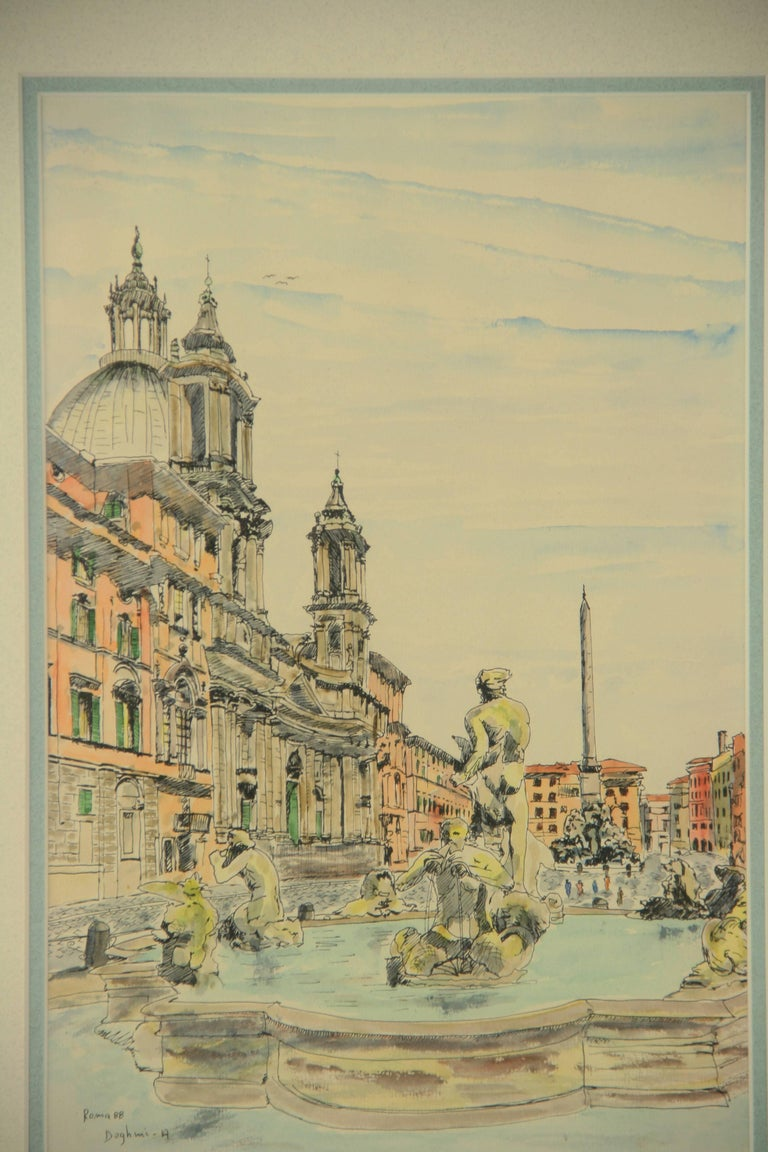 Unknown Roma Piazza Navona For Sale At 1stdibs