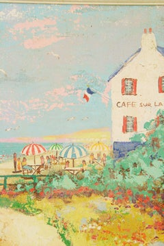French Riviera Cafe Sur lePlage