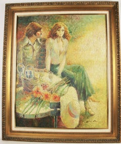 Picnic  Figurative Painting