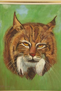 Bobcat Animal Cat  Painting